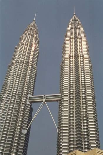 Petronas Towers , Kuala Lumpur, Malaysia