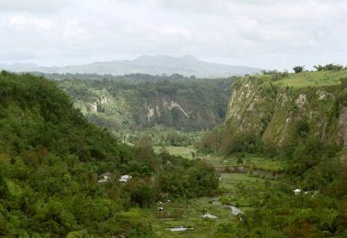Sianok Canyon, Bukittinggi, Sumatra, Indonesien