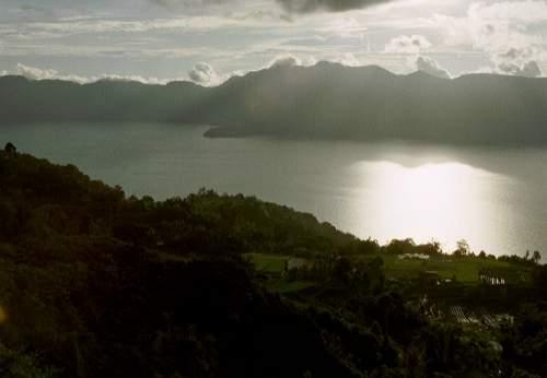 Lake Maninjau, Sumatra, Indonesien