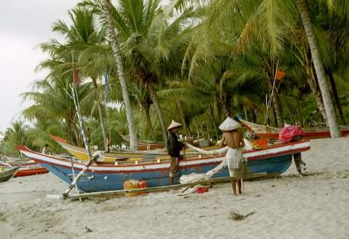 Jambak Beach, Padang, Sumatra, Indonesien